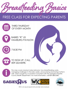Breastfeeding Basics Class @ Babies 'R Us | Lexington | Kentucky | United States
