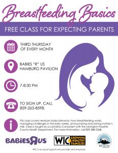 Breastfeeding Basics Class @ Babies 'R Us | Lexington | Kentucky | United States
