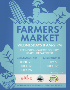 Farmers' Market @ Lexington-Fayette County Health Department | Lexington | Kentucky | United States