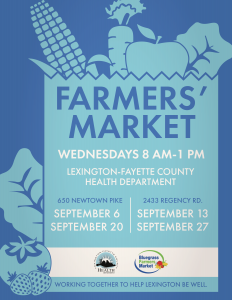 Farmers' Market @ Lexington-Fayette County Health Department South | Lexington | Kentucky | United States