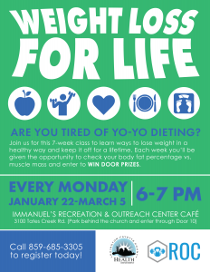 Weight Loss for Life @ Immanuel Baptist Church | Lexington | Kentucky | United States