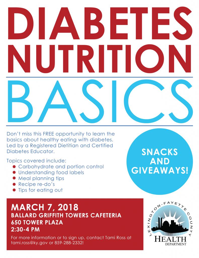 Healthy-Eating Basics for Diabetes