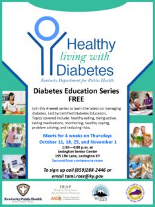 Healthy Living with Diabetes @ Lexington Senior Center | Lexington | Kentucky | United States