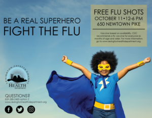 Free Flu Shot Clinic @ Lexington-Fayette County Health Department | Lexington | Kentucky | United States