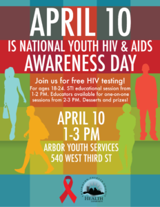 Free HIV Testing-Youth HIV/AIDS Awareness Day @ Arbor Youth Services | Tustin | California | United States