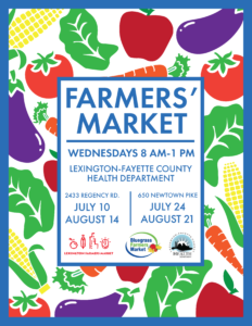 Community Farmers' Market @ Lexington-Fayette County Health Department | Lexington | Kentucky | United States